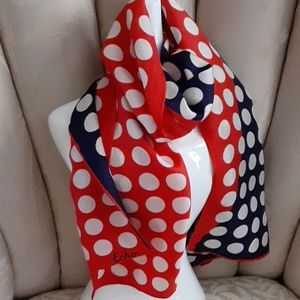 🦋 Echo..Polk Dots Scarf